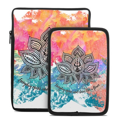 Tablet Sleeve - Happy Lotus