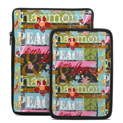 Tablet Sleeve - Harmony and Love
