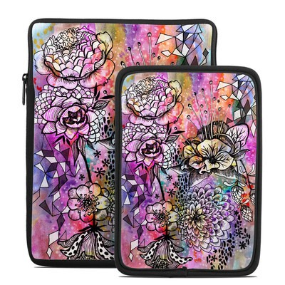 Tablet Sleeve - Hot House Flowers