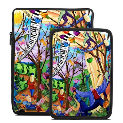 Tablet Sleeve - Happy Town Celebration