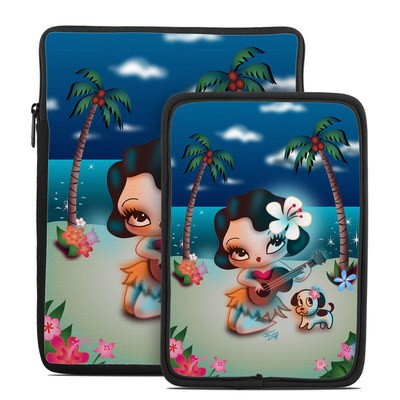 Tablet Sleeve - Hula Night
