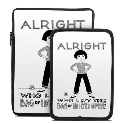 Tablet Sleeve - Bag of Idiots