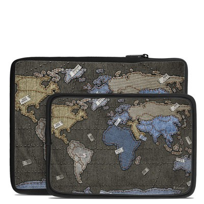 Tablet Sleeve - Jean Map