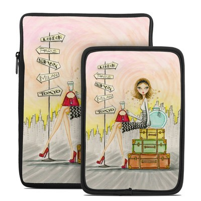 Tablet Sleeve - The Jet Setter