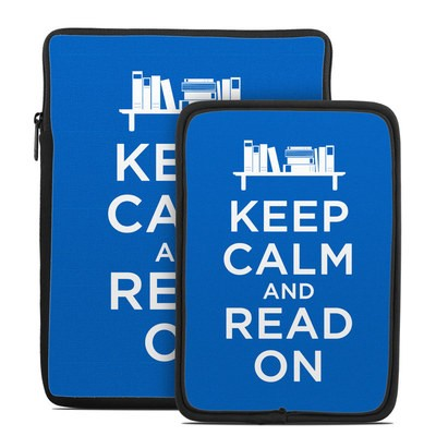 Tablet Sleeve - Keep Calm - Read