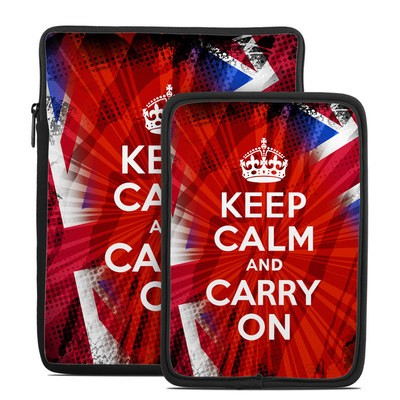Tablet Sleeve - Keep Calm - Burst