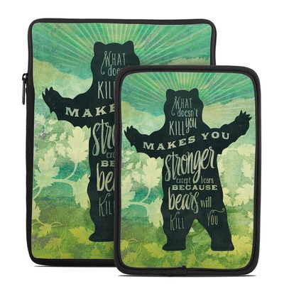 Tablet Sleeve - What Doesnt Kill You