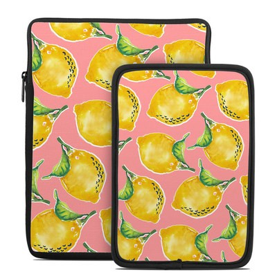 Tablet Sleeve - Lemon