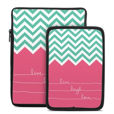 Tablet Sleeve - Live Laugh Love