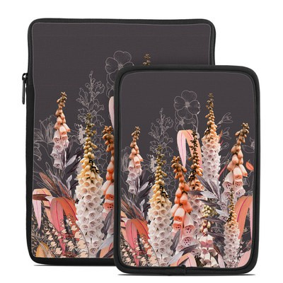 Tablet Sleeve - Lupines Chocolate