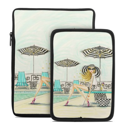 Tablet Sleeve - Luxe Retreat Poolside