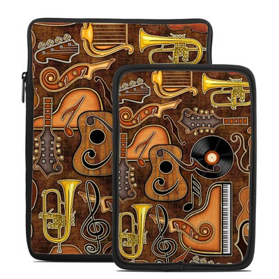 Tablet Sleeve - Music Elements