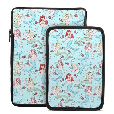 Tablet Sleeve - Mermaids and Roses