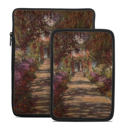 Tablet Sleeve - Monet - Garden at Giverny