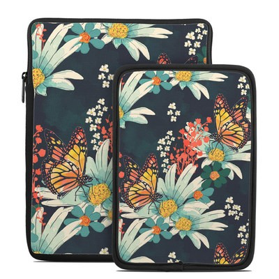 Tablet Sleeve - Monarch Grove