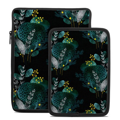 Tablet Sleeve - Night Seaflower