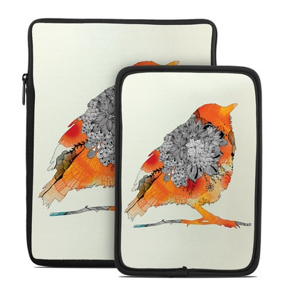 Tablet Sleeve - Orange Bird