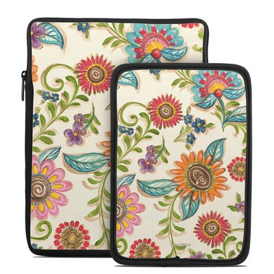 Tablet Sleeve - Olivia's Garden