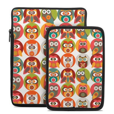 Tablet Sleeve - Owls Family