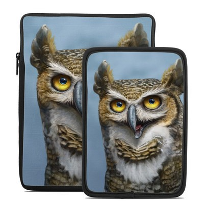 Tablet Sleeve - Owl Totem