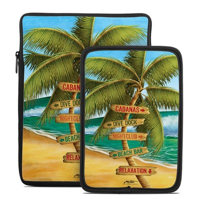Tablet Sleeve - Palm Signs