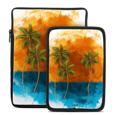 Tablet Sleeve - Palm Trio