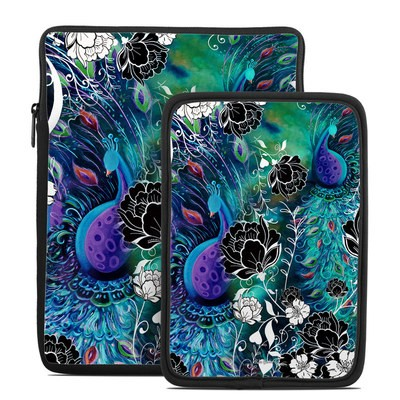 Tablet Sleeve - Peacock Garden