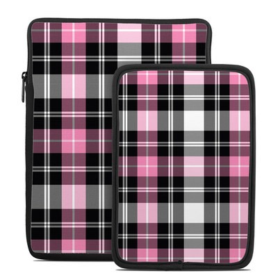 Tablet Sleeve - Pink Plaid