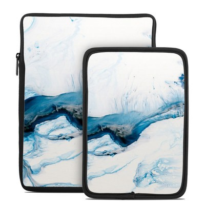 Tablet Sleeve - Polar Marble