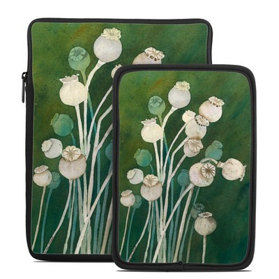 Tablet Sleeve - Poppy Pods