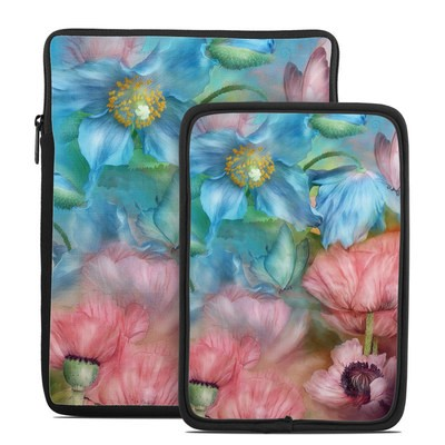 Tablet Sleeve - Poppy Garden