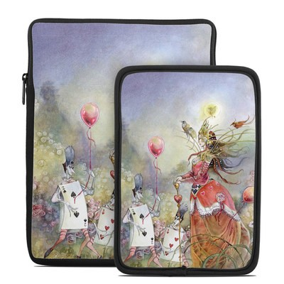 Tablet Sleeve - Queen of Hearts