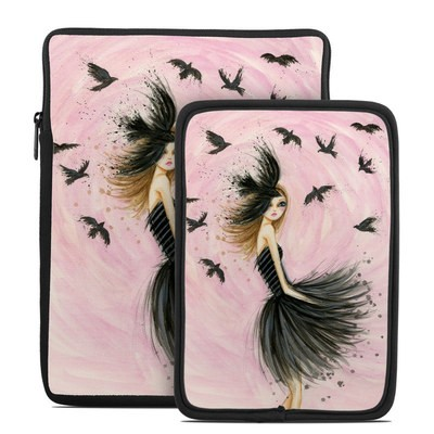 Tablet Sleeve - Raven Haired Beauty