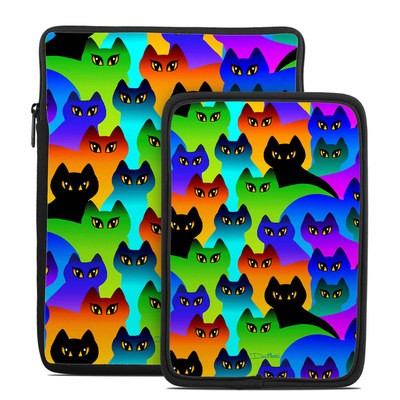 Tablet Sleeve - Rainbow Cats