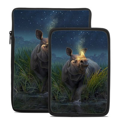Tablet Sleeve - Rhinoceros Unicornis