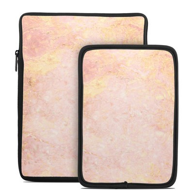 Tablet Sleeve - Rose Gold Marble