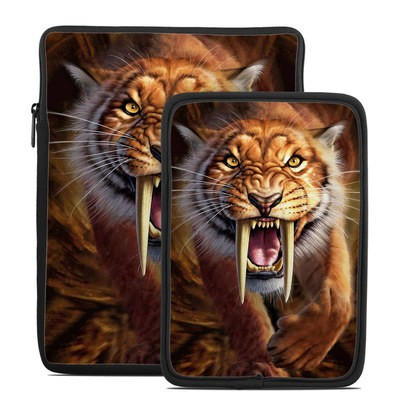 Tablet Sleeve - Sabertooth