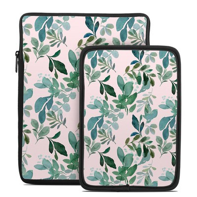 Tablet Sleeve - Sage Greenery