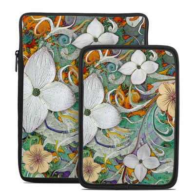 Tablet Sleeve - Sangria Flora