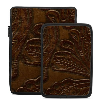 Tablet Sleeve - Saddle Leather