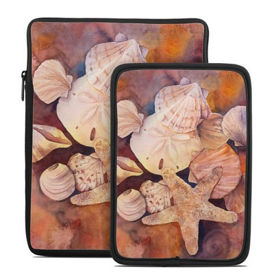 Tablet Sleeve - Sea Shells