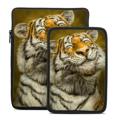 Tablet Sleeve - Smiling Tiger