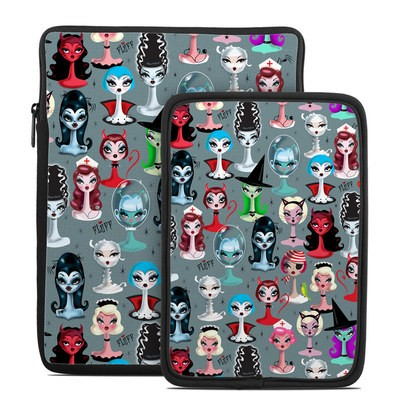 Tablet Sleeve - Spooky Dolls