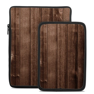 Tablet Sleeve - Stained Wood