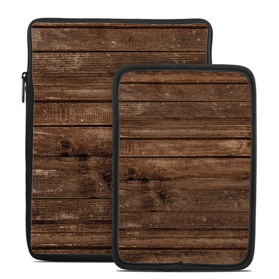 Tablet Sleeve - Stripped Wood
