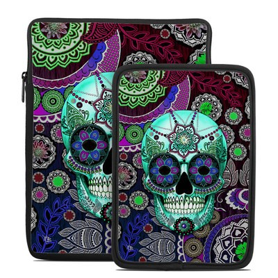 Tablet Sleeve - Sugar Skull Sombrero