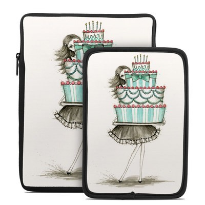 Tablet Sleeve - She Takes The Cake