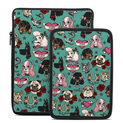 Tablet Sleeve - Tattoo Dogs