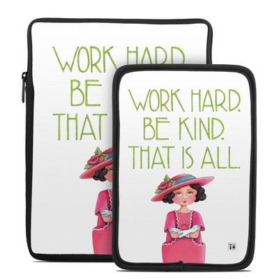 Tablet Sleeve - Work Hard