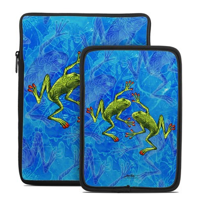 Tablet Sleeve - Tiger Frogs